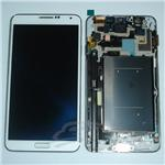 samsung galaxy note 3 N900 N9000 N9005 N9008 LCD with frame white